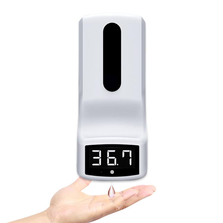 K9 Мытье рук и измерение температуры